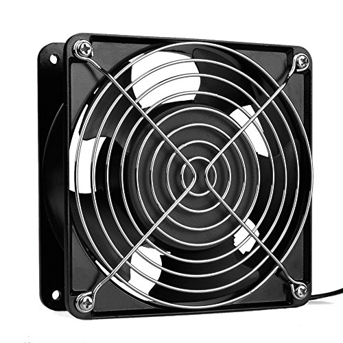 Pinfox Electronic Cooling Fans 110V AC High Speed Cabinet 1238 Cooling Fan 1...