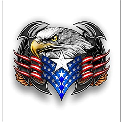 American Tribal eagle sticker / decal: Automotive