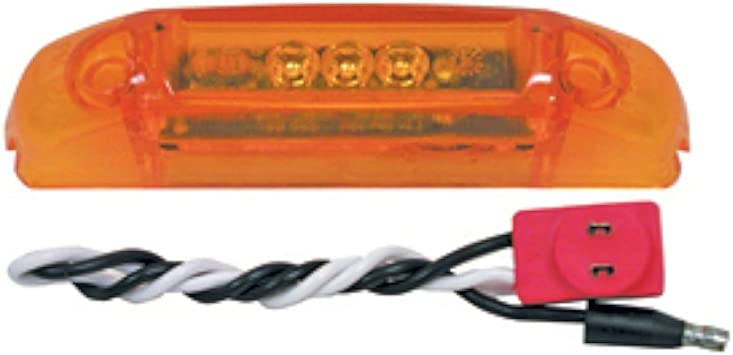 Peterson Manufacturing V2546A Amber Clearance Light