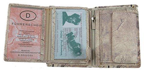 "NB24 Versand Geldbörse, (1188) ""CA$H King"" Herren Geldbörse, PU Leder, Größe ca. 12,5 x 9,5 x 2,5 cm"