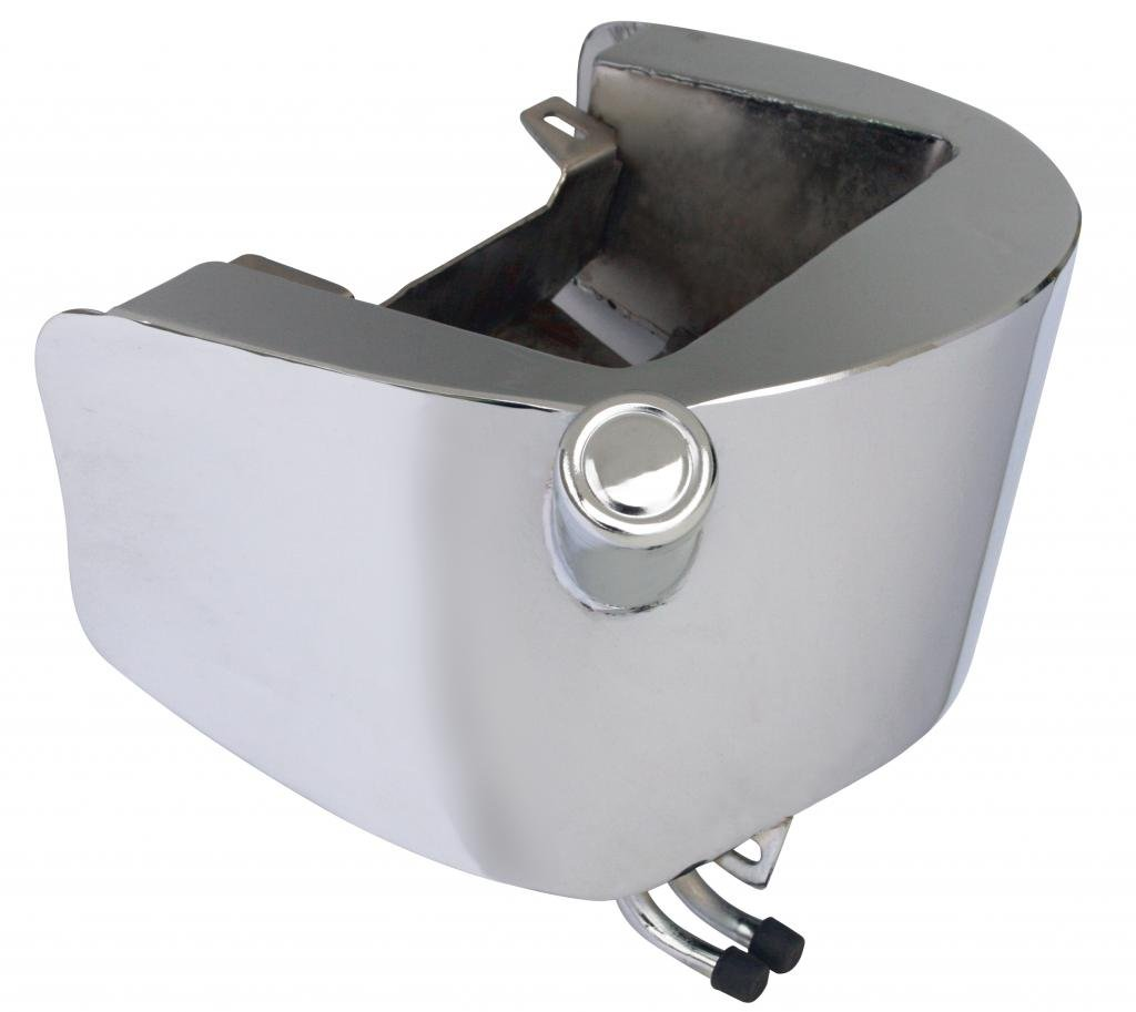 Ultima 26-127 FXST-style Oil Tank for Softail - Chrome Finish