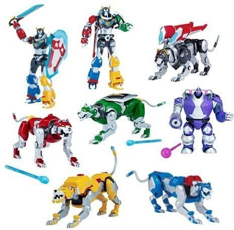 Voltron: Legendary Defender Basic Action Figure Wave 1