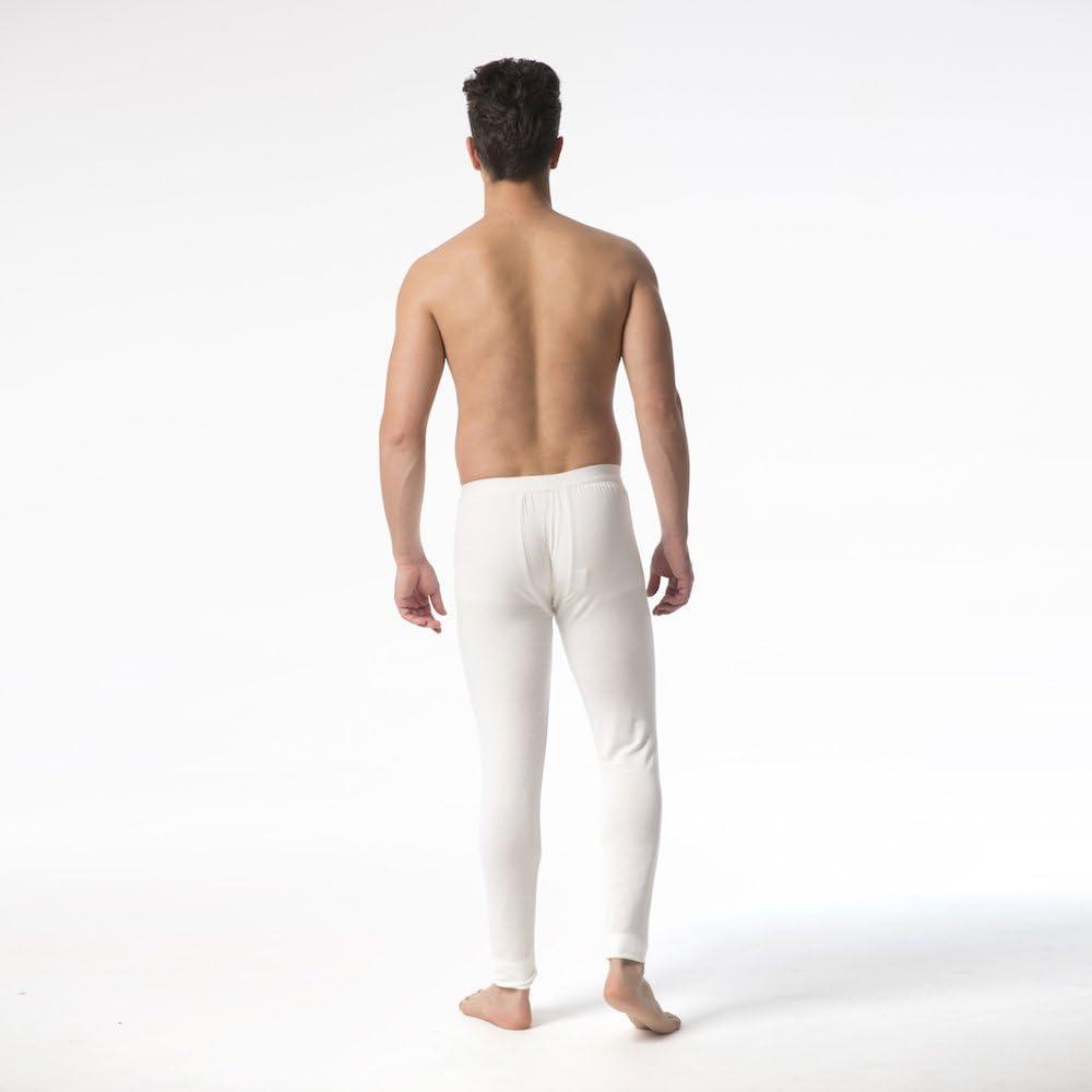 Jasmine Silk Modal Thermal Long Johns Ivory