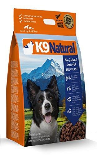 K9 Natural Freeze Dried Dog Food Beef 8lb Dry Pet Food Pet