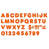 TREND ENTERPRISES INC. READY LETTERS 2 INCH CASUAL ORANGE (Set of 24)