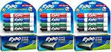 Expo Low-Odor Dry Erase Set, Chisel Tip, 15-Piece, Assorted Colors