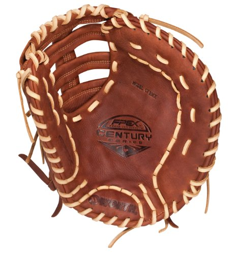 Worth Softball Century Series 12.5-inch Fastpitch First Baseman's Mitt, Left-Hand Throw