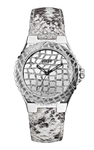 GUESS Untamed Analog Silver Dial Women's Watch - W0227L1