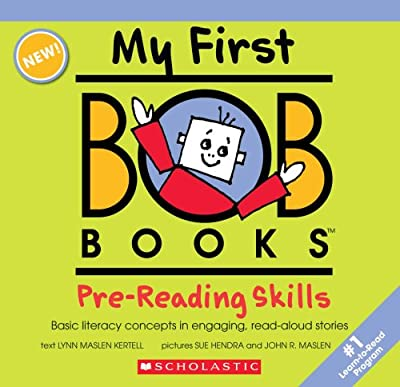 Pre-reading Skills My First Bob Books My First Bob Books from Scholastic