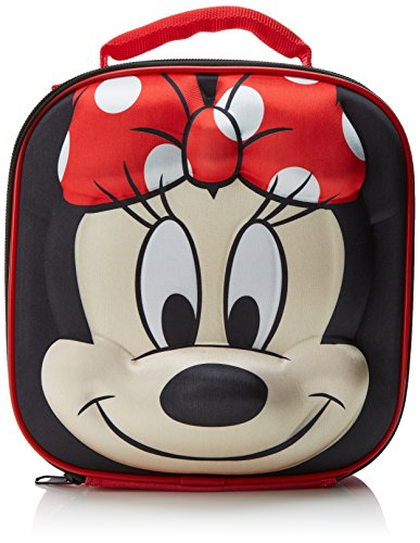 Disney 3D Minnie Mouse Insulated Lunch Bag/Box with Bottle