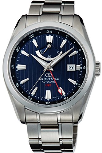ORIENT watch ORIENTSTAR GMT mechanical Navy WZ0071DJ Men