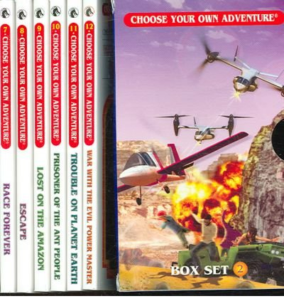 Own Adventure Set - Box Set #4-3 Choose Your Own Adventure Books 9-12:: Box Set Containing: Lost on the Amazon, Prisoner of the Ant People, Trouble on Planet Earth, War w by Montgomery, R. A. (2006)