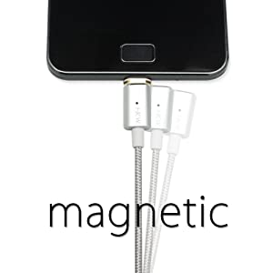 HKW Magnetic MicroUSB Charging Cable 4Ft/1.2m