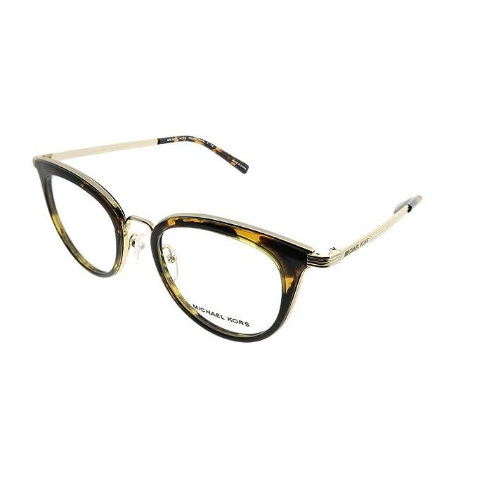 Michael Kors 0MK3026, Monturas de Gafas para Mujer, Lite Gold, 50