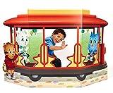 #10: Daniel Tiger Room Decor - Trolley Life Size Cardboard Standup