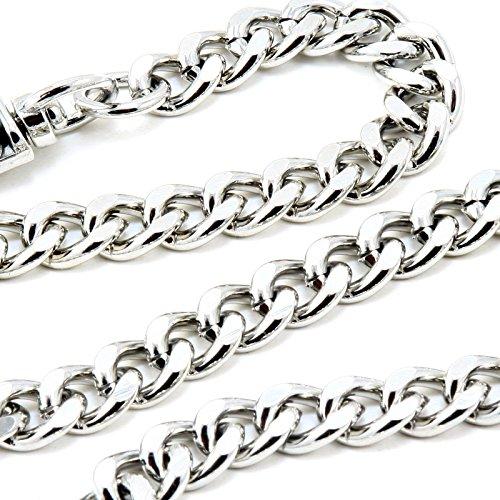 DoubleK Basic Strong Leash Biker Trucker Key Jean Wallet Chain (21'') Silver CS15420 by Double K (Image #2)'