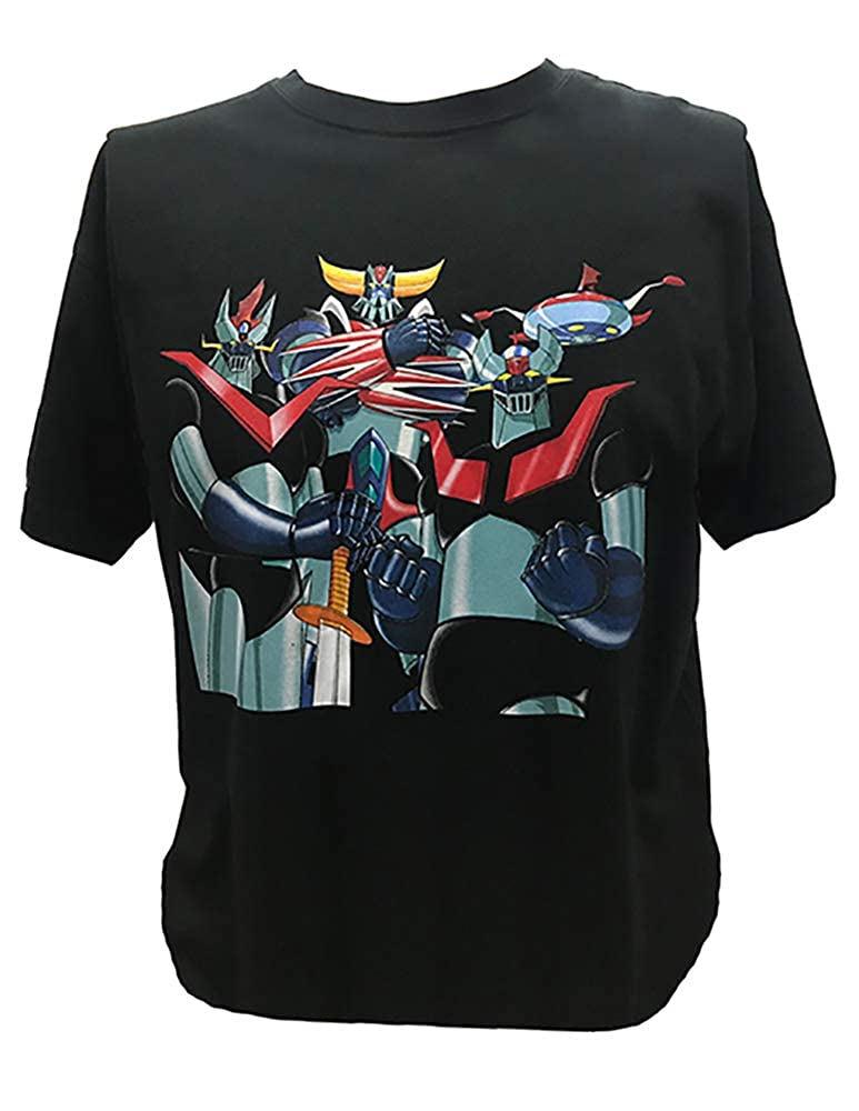 Anime Great Mazinger Mazinga Z Robot T Shirt Goldrake