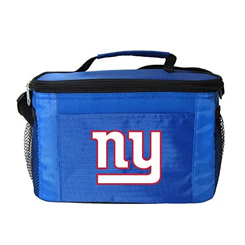 NFL New York Giants Team Logo 6 Can Cooler Bag or Lunch Box - - Giants Lunch New Box York