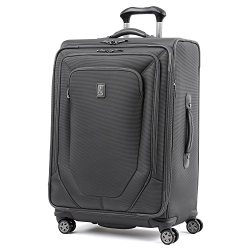 Travelpro Crew 10 25-Inch Expandable Spinner Suiter (Grey)
