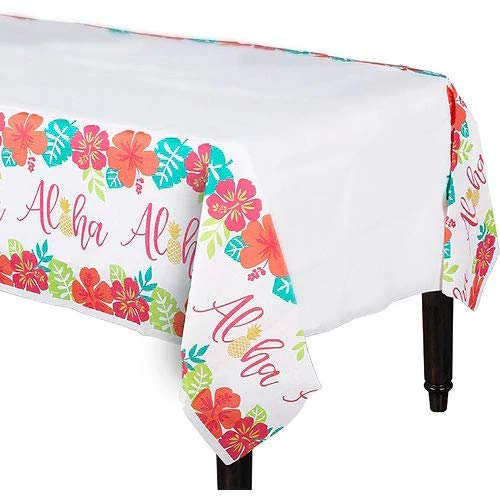 HollyDel You Had Me at Aloha Paper Table Cover Summer Tableware