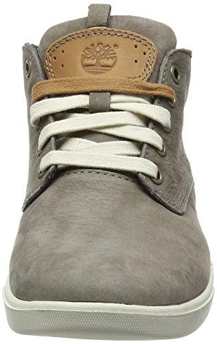 TimberlandGroveton_Groveton Leather Chukka - Zapatillas Niños-Niñas Marrón - Braun (Major Brown Barefoot Buffed)