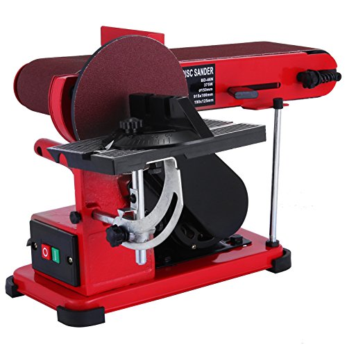 Orangea belt disc sander combination 4 x 36 inch belt for 10 sanding disc for table saw