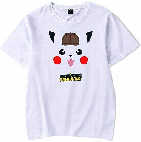 M-T Cuello Redondo de Los Hombres Camiseta de Manga Corta de Algodón Camiseta Casual Camisa de Manga Corta de Los Hombres de Verano de Moda de Impresión, Blanco, XL: Amazon.es: Deportes y