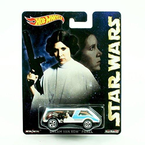 Star Wars Princess Leia Hot (DREAM VAN XGW PANEL * PRINCESS LEIA ORGANA * Hot Wheels 2015 Pop Culture STAR WARS Series Die-Cast Vehicle)
