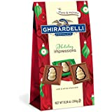 Ghirardelli Chocolate Squares, Milk and White Holiday Impressions Bag, 8.24 oz.