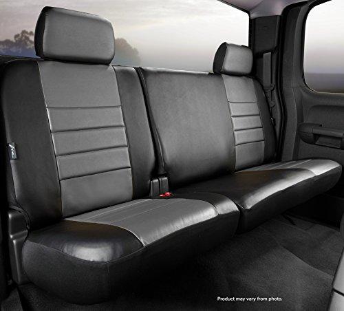 Fia SL62-38 GRAY Custom Fit Rear Seat Cover Split Seat 60/40 -...