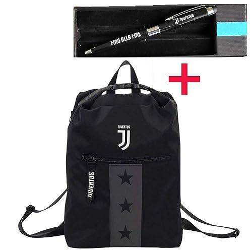 10947213af Zaino Juventus Multy Backpack, Nero, 19 Lt, Flash Effect, Scuola Sport &