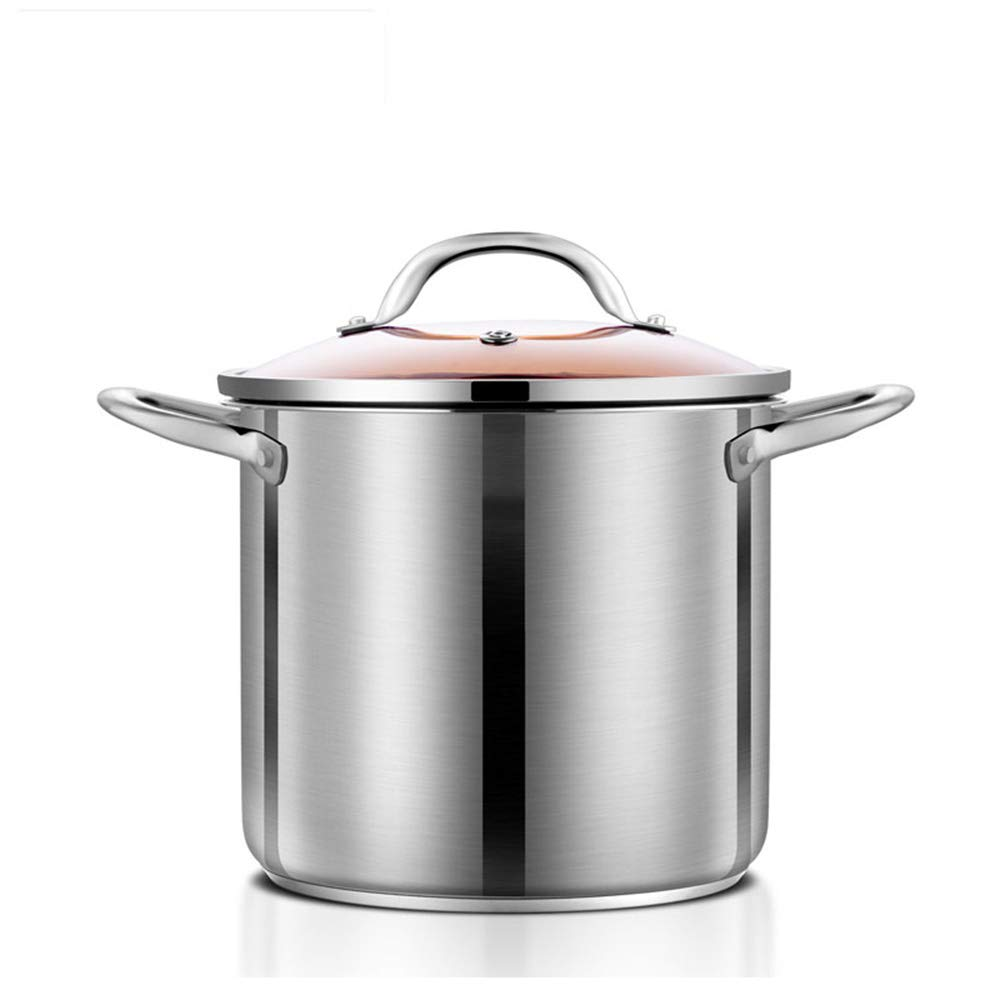 GL-kitchen supplies Stainless Steel Household Heightening Large Capacity Soup Pot Steamer Pot Gas Cooker Universal