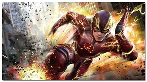 Tomorrow sunny The Flash TV Series Art Silk Wall Poster 24x3