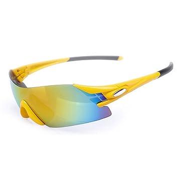 KOMEISHO Gafas de Sol polarizadas de los Hombres del Estilo sin Marco Que conducen el Ciclo