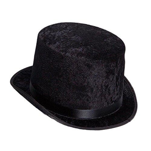 Century Novelty Deluxe Black Top Hat