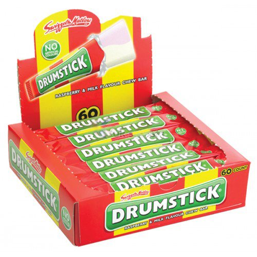 Swizzels Matlow Drumstick Chew Bar (60 Pieces)