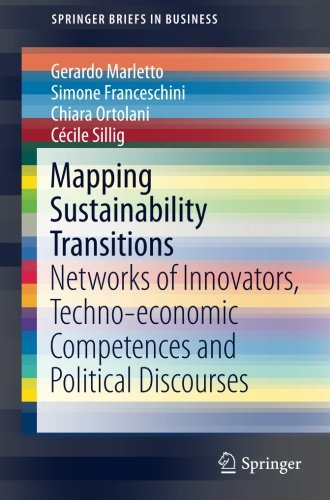 Mapping Sustainability Transitions: Networks of Innovators, Techno-economic Competences and Political Discourses (Spring