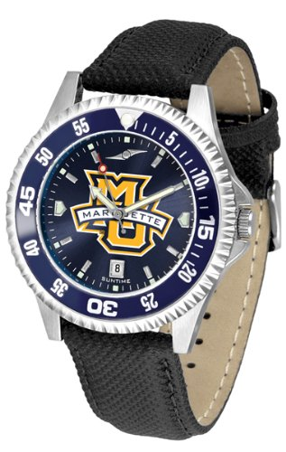 - Marquette Golden Eagles Competitor AnoChrome Men's Watch - Color Bezel