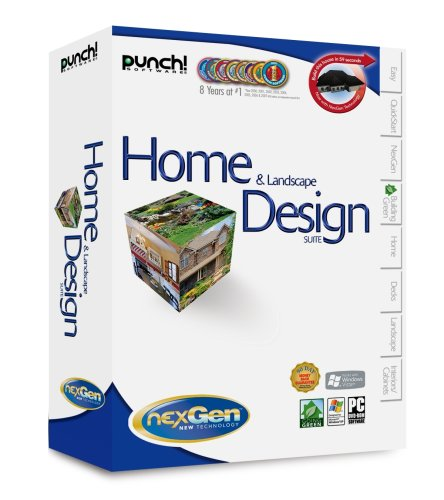 Punch home landscape design suite with nexgen for Punch home landscape design crack