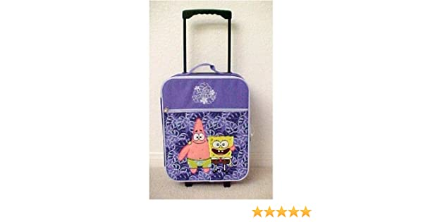 e24afe6becf7 Amazon.com: Nickelodeon Spongebob Travel Luggage Suitcase: Toys & Games