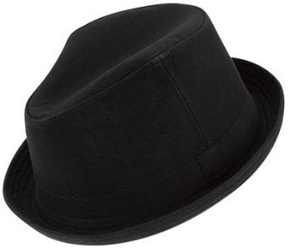 Peter Grimm KNOXVILLE Fedora Style Hat, Black, Small/Medium