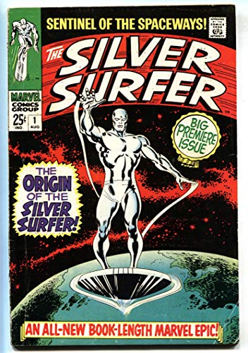 SILVER SURFER #1 COMIC BOOK-1968-Key Issue-Marvel Silver-Age First - Marvel Silver Age