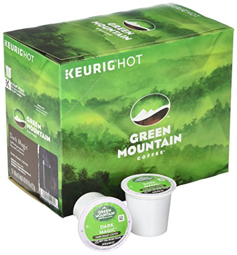 Keurig Top Four Selling K Cups 96 Count (Green Mountain Coffee Dark Magic) by Green Mountain Coffee Roasters (Image #2)