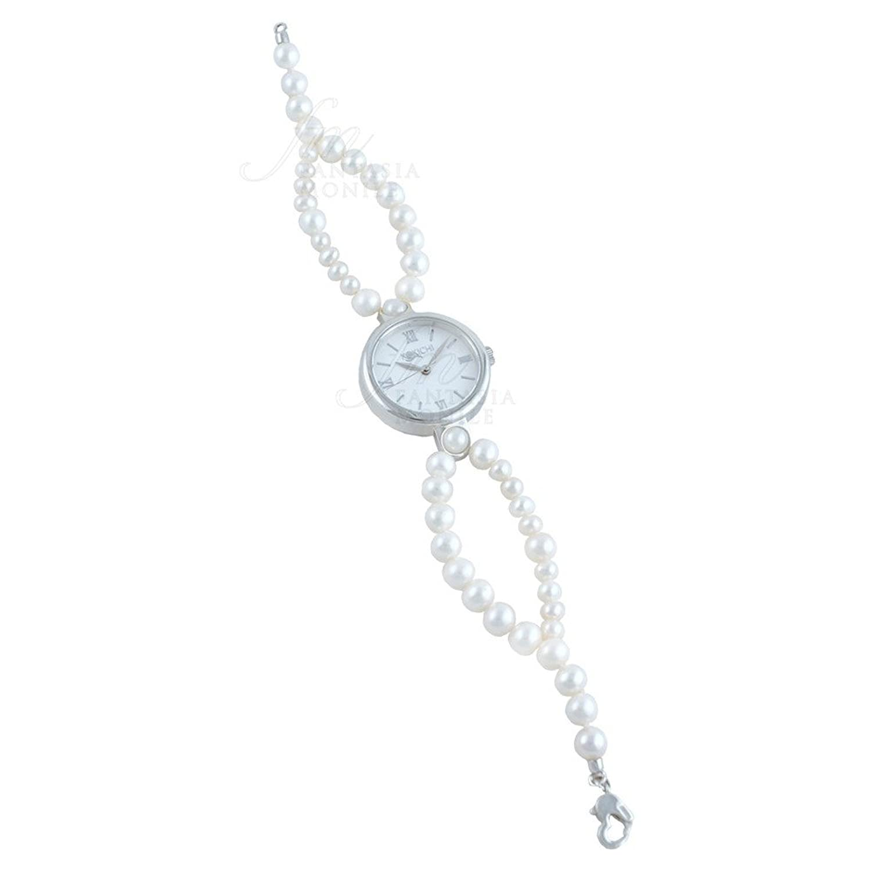 Uhr Kokichi Armband Zuchtperlen Freshwater Zifferblatt rÖmische Ziffern n8p2jfm