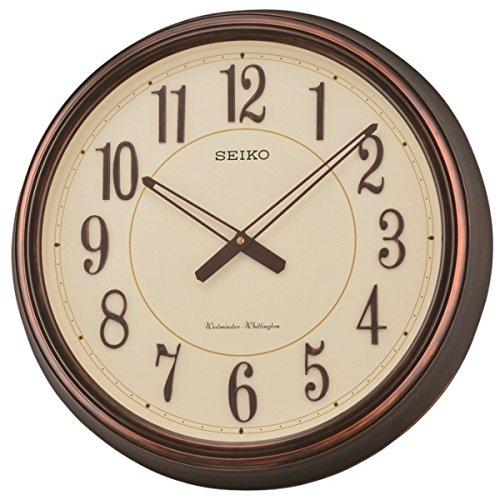 - Seiko Westminster/Whittington Dual Chimes Wall Clock