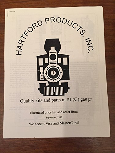 Hartford Products Inc. Quality Kits and Parts in #1 G Gauge