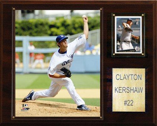 MLB Clayton Kershaw Los Angeles Dodgers Player Plaque (Clayton Kershaw Plaque)