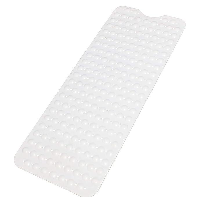 Balala alfombra para bañera antideslizante 98.5x39.5cm transparente: Amazon.es: Hogar