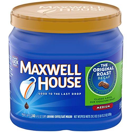 Maxwell House Decaf Original Roast Ground Coffee, 29.3 oz ()
