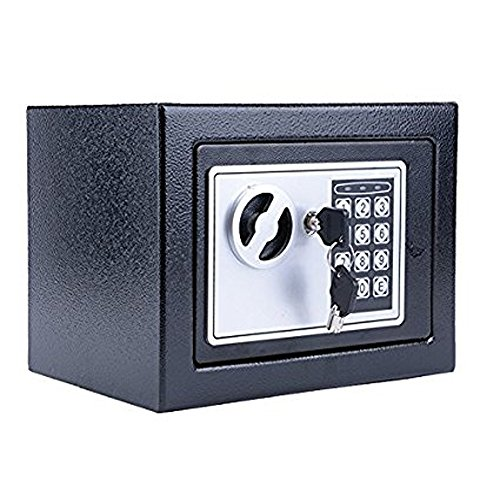 Bifast Electronic Digital Home and Office Security Solid Steel Safe with Posting Slot 9.5lbs and Key
